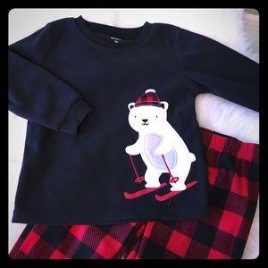 Carter's Fleece Sleepwear 2T